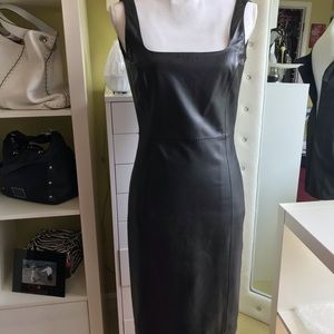 Ralph Lauren Vintage Leather Dress